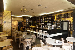 Ordinary cafe in Logrono Royalty Free Stock Photo
