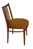 Ordinary chair, side view. Royalty Free Stock Photos