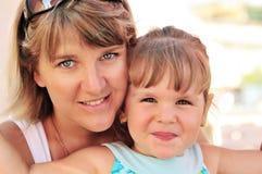 Ordinary family Royalty Free Stock Photography