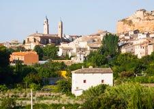 Ordinary spanish  town. Borja Royalty Free Stock Photography