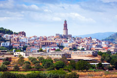 Ordinary spanish town in summer. Jerica Stock Photos