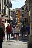 Ordinary street in Avila 12 Stock Photography