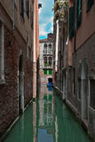 Ordinary Venetian courtyard. Royalty Free Stock Images