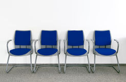 Ordinary waiting room Royalty Free Stock Images