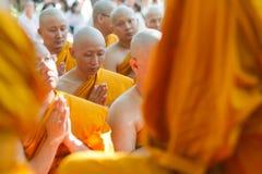 Ordinate. Ordination ceremony in Bangkok Thailand Royalty Free Stock Image
