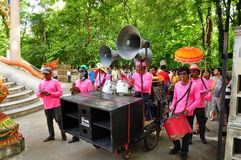 Ordinate procession. Ordinations priest neophyte ecclesiastic thailand  ordain ordinate procession Stock Photo