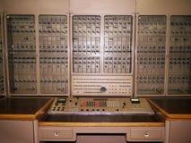 Ordinateur électronique historique russe Image libre de droits