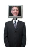 Ordinateur amical, Internet, technologie d'isolement Images stock