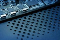 ordinateur de circuit de panneau Photos stock
