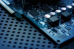 ordinateur de circuit de panneau Images stock