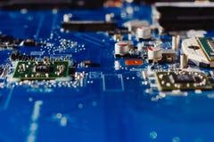 ordinateur de circuit de panneau électronique image libre de droits