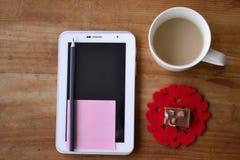 Ordinateur de tablette Image stock