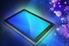 Ordinateur de tablette d'écran tactile Photos libres de droits