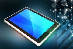 Ordinateur de tablette d'écran tactile Images libres de droits