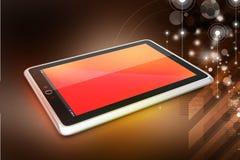 Ordinateur de tablette d'écran tactile Photo libre de droits