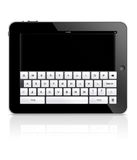Ordinateur de tablette d'Ipad Photos stock