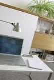 Ordinateur, disque compact-ROM. Photographie stock
