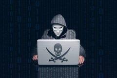 Ordinateur entaillant et de utilisation anonyme de masquage pour entailler des mots de passe images libres de droits