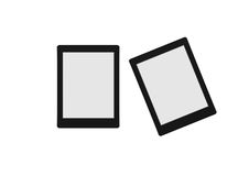 Ordinateur noir de tablette Photos stock