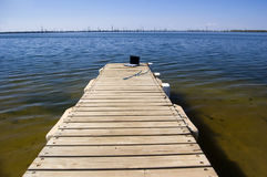 Ordinateur, pêche allée Photo libre de droits