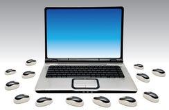Ordinateur portable Photos stock