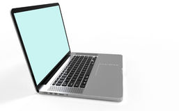 Ordinateur portable moderne Image stock