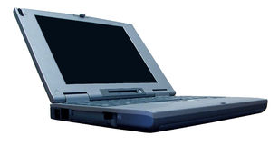 Ordinateur portatif Image stock