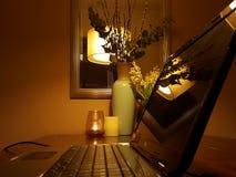 Ordinateur portatif Image libre de droits