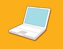 Ordinateur portatif Illustration Libre de Droits