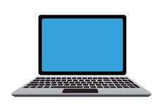 Ordinateur portatif d'isolement par vecteur Photos libres de droits