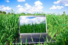 ordinateur portatif d'ordinateur Images libres de droits