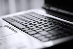 ordinateur portatif de clavier Photographie stock libre de droits