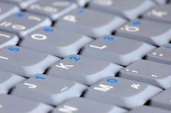 ordinateur portatif de clavier d'ordinateur Image libre de droits