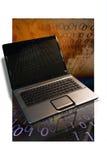 Ordinateur portatif de Noetbook d'ordinateur Images libres de droits
