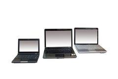 ordinateurs portatifs Photo stock