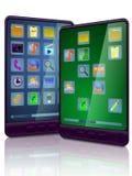 Ordinateurs portatifs de tablette Image stock