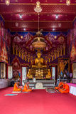 Ordination ceremony in buddhist Royalty Free Stock Images