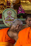 Ordination ceremony in buddhist Royalty Free Stock Image