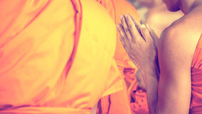Ordination ceremony in buddhist Stock Photography