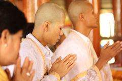 Ordination ceremony,Monk Royalty Free Stock Photos