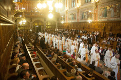 The Ordination of 15 Seminarians in to the Deaconate at Mynooth College on 1st June 2014 Stock Image