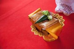Ordination in temple Stock Photo