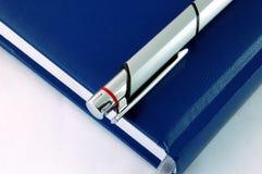 Ordine del giorno isolato con la penna Immagine Stock Libera da Diritti