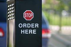 Ordine qui Immagine Stock Libera da Diritti