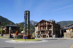 Ordino, Andorra stockbilder