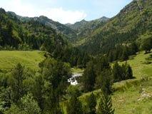 Ordino berg, Andorra Royaltyfri Foto