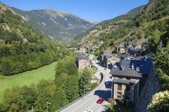 Ordino-Dorf in Andorra Lizenzfreies Stockbild