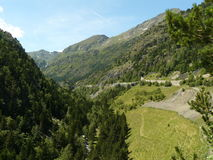 Ordino góry, Andorra Obraz Royalty Free