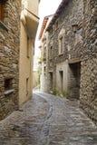 Ordino. Street at town of Ordino. Andorra Royalty Free Stock Image