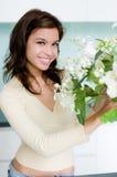 ordna blomman Royaltyfri Fotografi